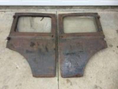 1930-31 Model A Fordor Rear Doors
