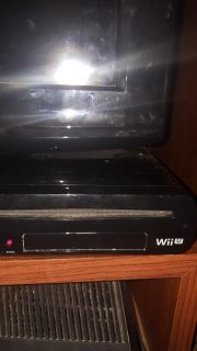Wii U console (tv not included)