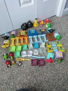 Angry Birds lot.