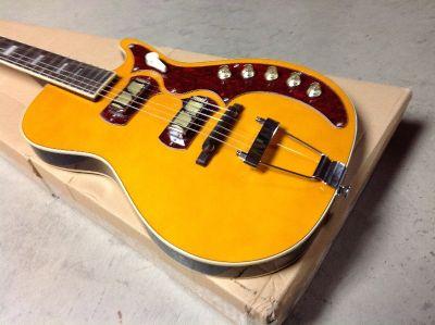 Harmony H49 Stratatone Guitar Reissue