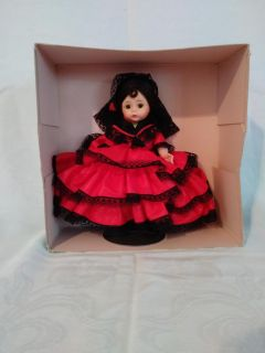 Madame Alexander Spanish Doll from early 1960's