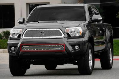 Sell T-Rex 12-13 Toyota Tacoma Billet Grille X-Metal Series Polished Mesh Grill motorcycle in Corona, California, US, for US $364.50