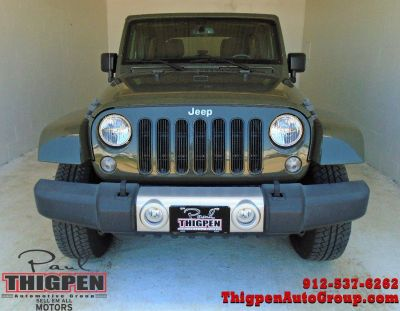 2015 Jeep Wrangler Unlimited Sahara (Green Or Teal)