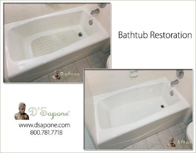 Commercial Bathtub Restoration