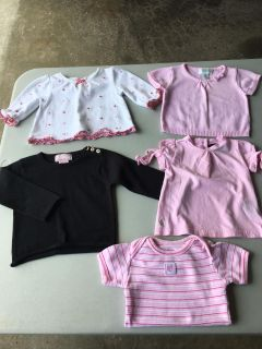 Girls 3-6 Month Top Lot