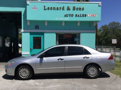 2007 Honda Accord Value Package (Silver)