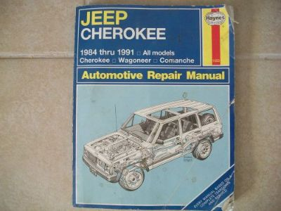 Buy Haynes Jeep Cherokee 1984-91 Repair Manual 1553 Wagoneer Comanche motorcycle in Golden Valley, Arizona, United States, for US $7.40