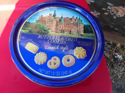 Butter flavored cookies
