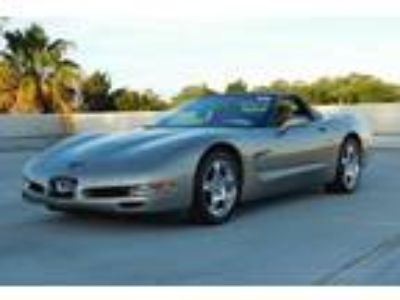 1999 Chevrolet Corvette Convertible Manual