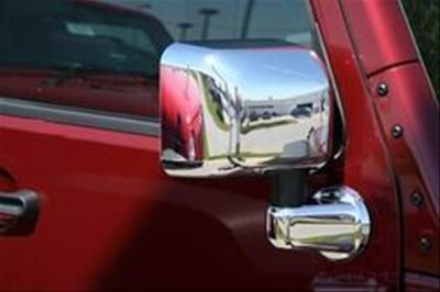 Buy Putco 400121 Mirror Covers ABS Plastic Chrome Finish Jeep Wrangler Pair motorcycle in Tallmadge, Ohio, US, for US $99.97