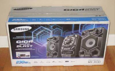 SAMSUNG GIGA SOUND BLAST MX-J630 - 230w - NEW IN BOX