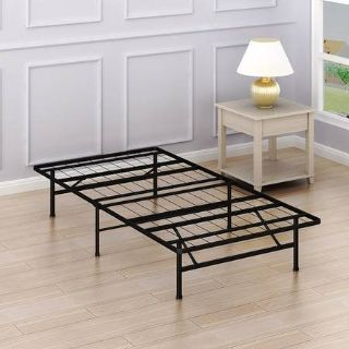 Twin Size Mattress Foundation Platform Bed Frame, Twin - New!