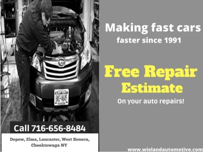 Auto Repair, Free estimates. Friendly service