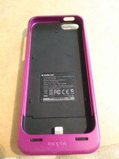 Iphone 5 mophie case