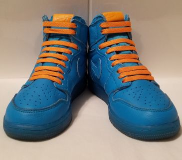 Air Jordan 1 Retro High Gatorade Blue Lagoon - Excellent Used Condition