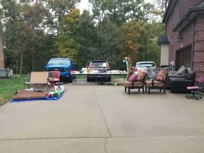 Huge Yard sale rain or shine 10/27
