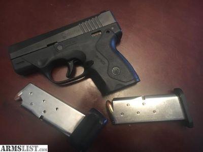 For Sale: 9mm Beretta Nano