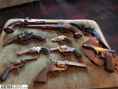 For Sale/Trade: Estate Lot Browning Webley Remington Pinfire Confederate & more!