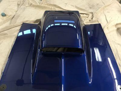 6 inch custom cowl hood for 67-69 camaro