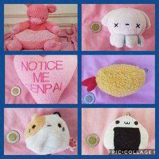 Anime plush stuffed toy for kids