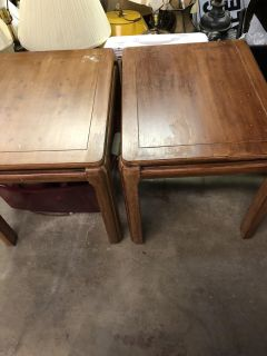 Matching Pair of LANE End Tables