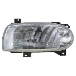Purchase 93-99 VW Golf Cabrio Single Beam Headlight Headlamp Passenger Side Right RH motorcycle in Gardner, Kansas, US, for US $71.90