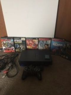 ps2 with games