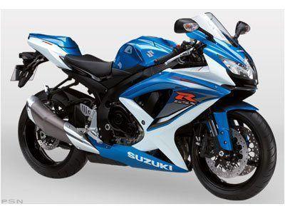 2009 Suzuki GSX-R750 SuperSport Motorcycles Ontario, CA