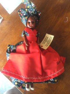 Hand made in New Orleans doll