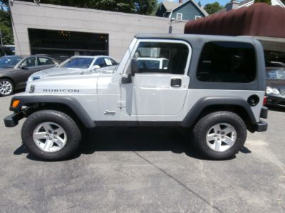 2003 Jeep Wrangler Rubicon (Bright Silver Metallic)