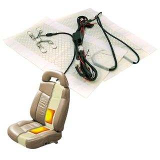 Sell Heated Seat System No Harness or Switchelectric seats hot seats pad warm motorcycle in Portland, Oregon, United States, for US $28.33