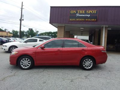 2011 Toyota Camry XLE V6 (Red)