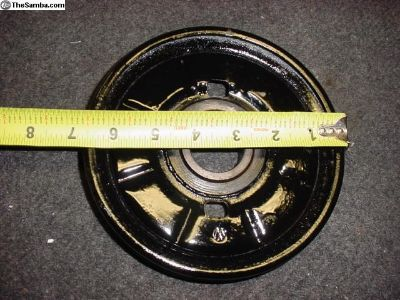 Original Engine Pulley From A 68 Ghia