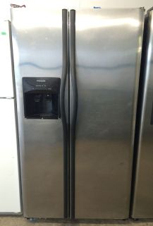 Frigidaire 25cu.ft Side by Side Refrigerator in Stainless Steel