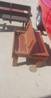 Storage/ coffee table. Handmade out of pallets