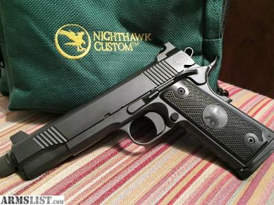 For Sale: NightHawk Custom 1911 AAC .45