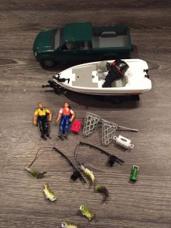 Toy Fishing Playset