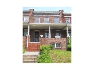 3 Bed 1 Bath Foreclosure Property in Baltimore, MD 21217 - N Pulaski St