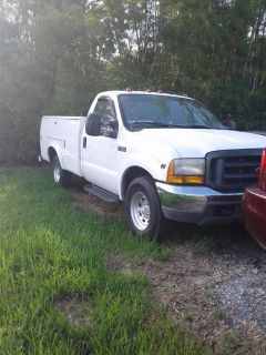 2000 FORD F350 TRUCK WITH UTILITY BED