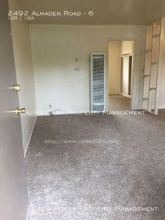 Updated 1 bedroom apt on 2nd floor