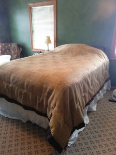 Queen bed Comforter- reversible!