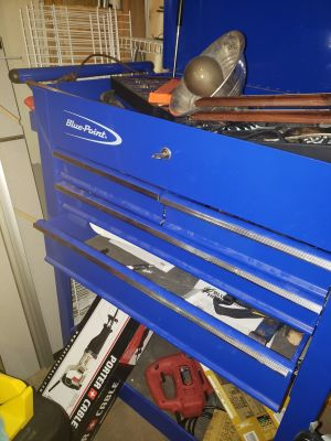Snap on Blue Point Rolling Tool box