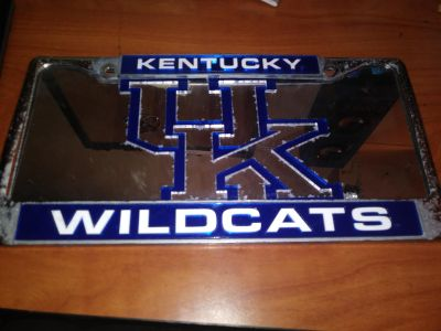 University of Kentucky Wildcats Liscense Plate Cover