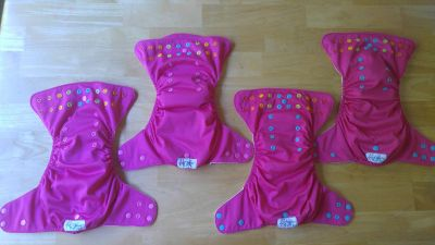 Rosie Lalabye Baby Cloth Diapers
