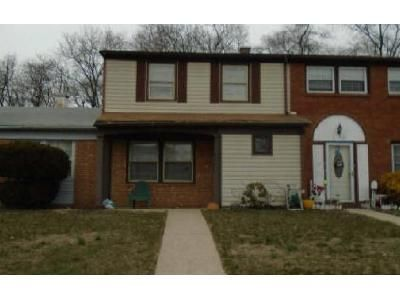 3 Bed 1.5 Bath Foreclosure Property in Willingboro, NJ 08046 - Rittenhouse Dr