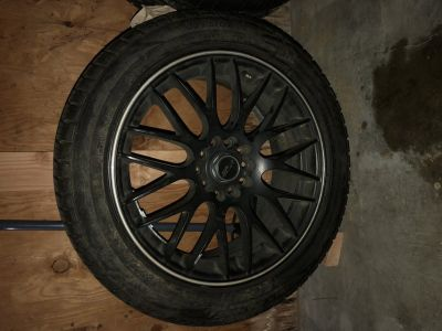 17 inch MSR wheels with tires