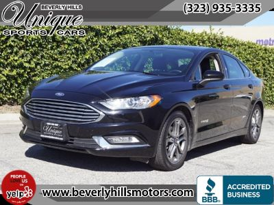 2017 Ford Fusion Hybrid SE (Shadow Black)