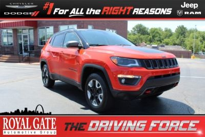 2018 Jeep Compass (Spitfire Orange Clearcoat)