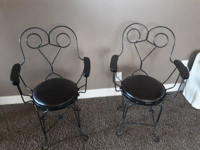 Set of Ice Cream Parlor Chairs