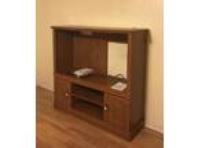 Estate...Queen bed, dresser, chest of drawers, entertainment center, wall mirror